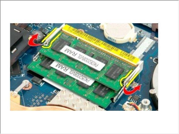Vostro 1720 Memory Module Replacement