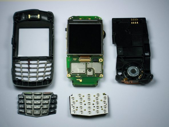 BlackBerry 7130e Keypad Replacement