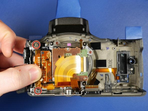 Before removing the sensor block assembly, the sub frame assembly must be removed.