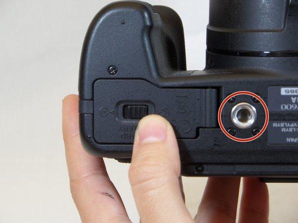 Nikon COOLPIX P600 Tripod Mount Replacement