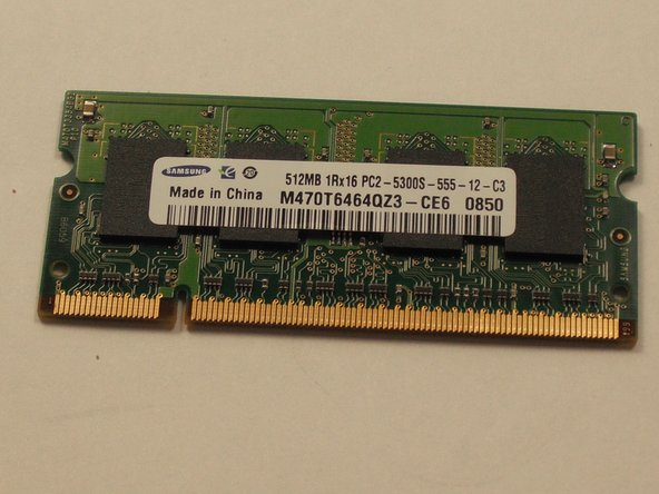 Acer Aspire One ZG5 RAM Replacement