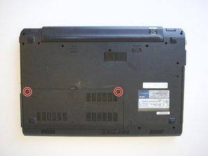 ASUS U52F-BBG6 Hard Drive Replacement