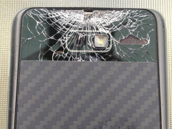 Motorola Droid RAZR M Battery Door Glass Lens Replacement