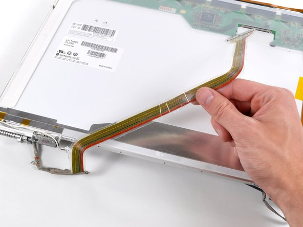 "MacBook Pro 17"" Models A1151 A1212 A1229 and A1261 Display Data Cable Replacement"
