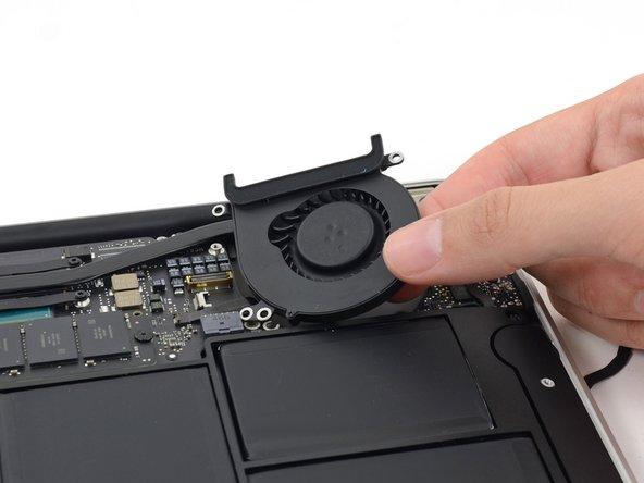 "MacBook Air 11"" Mid 2013 Fan Replacement"