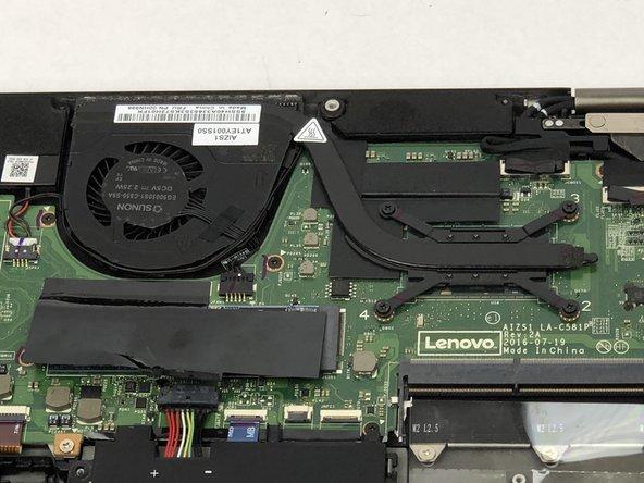 Lenovo ThinkPad Yoga 260 Repair Heat Sink Replacement