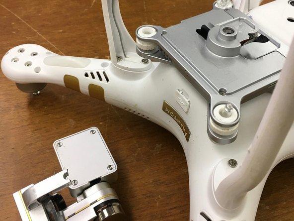 DJI Phantom 3 Pro Camera Gimbal Arm and Cable Replacement