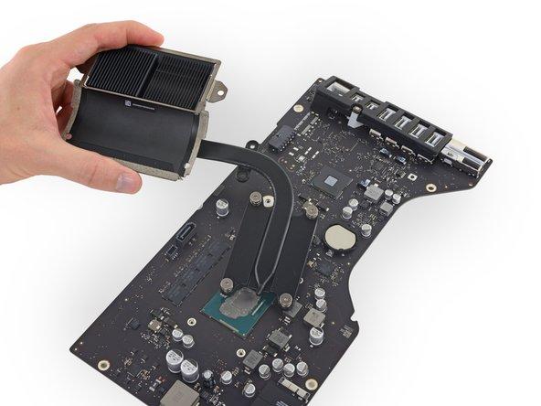 "iMac Intel 21.5"" Retina 4K Display Heat Sink Replacement"