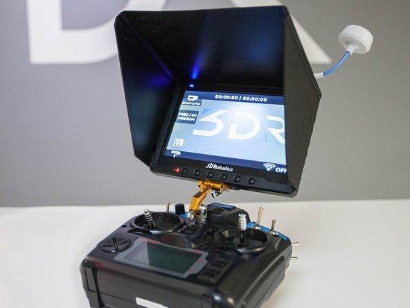 How to set up 3DRobotics Iris+ LiveView FPV Kit