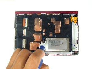 Démontage du boîtier intérieur du Sony Reader Touch Edition PRS-600