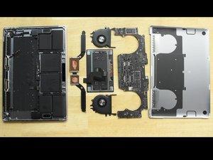 "Desmontaje de Macbook Pro 15"" Touch Bar 2018"