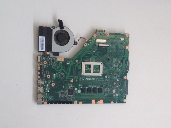 ASUS X55C iCore with 4GB no board RAM motherboard, model: 60-N0OMB1100
