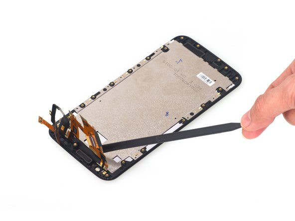 Remove the LCD shield easily.