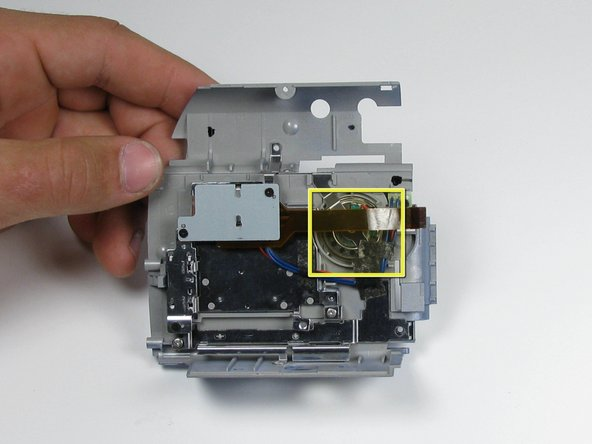 Panasonic PV-GS9 Speaker Replacement
