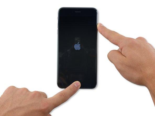 iPhone 6 Plusの強制リセット方法