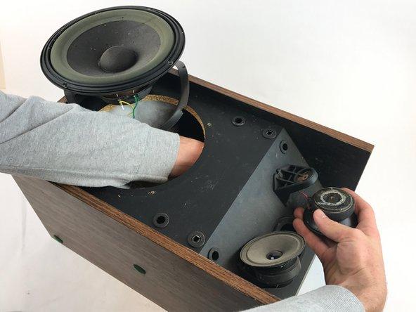 Bose-301 Series II Tweeter Replacement - iFixit Repair GuideiFixit