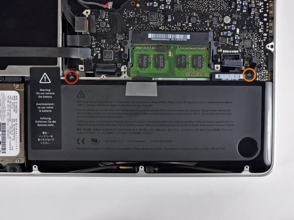 Removing the battery before lifting out the logic board is not strictly required, but makes removing the logic board easier and safer. If you leave your battery in, be especially careful not to bend the logic board against the battery's case near its bar code.