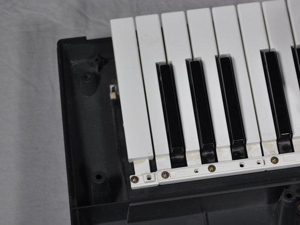 Casio CTK-501 Keys Replacement
