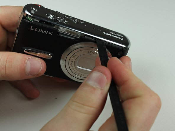 Panasonic Lumix DMC-FX07 Top Cover Replacement