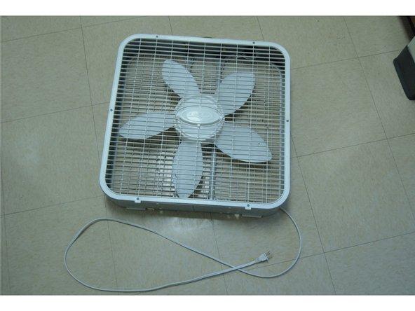 Lasko Box Fan Back Wire Repair