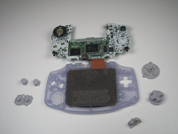 Game Boy Advance Buttons Replacement