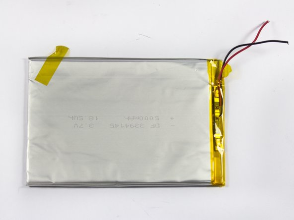 Android Tablet Nobis NB09 Battery Replacement