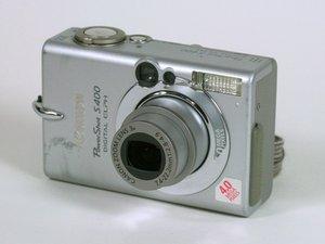 Canon PowerShot S400 Repair