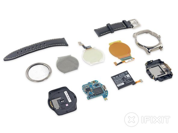 LG Watch Urbane Repairability Score: 7 out of 10 (10 is easiest to repair)
