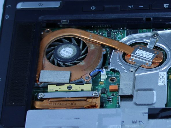 HP Compaq nc8430 Fan Replacement