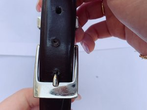 How to Add a Hole to a Belt