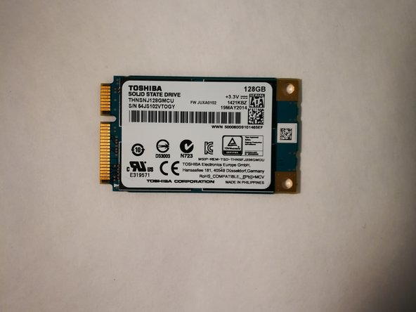 MSI GS70 Solid State Drive Replacement