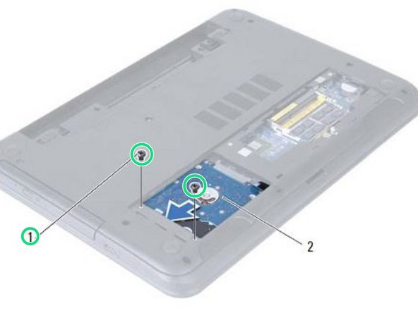 Dell Inspiron 15R 5521 Hard-Drive Assembly Replacement