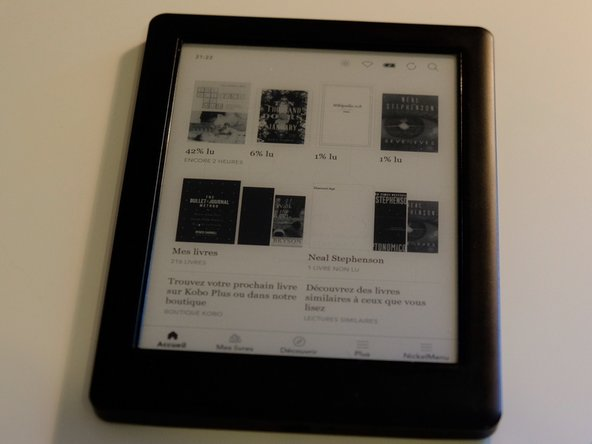 Kobo Glo HD eReader Battery Replacement