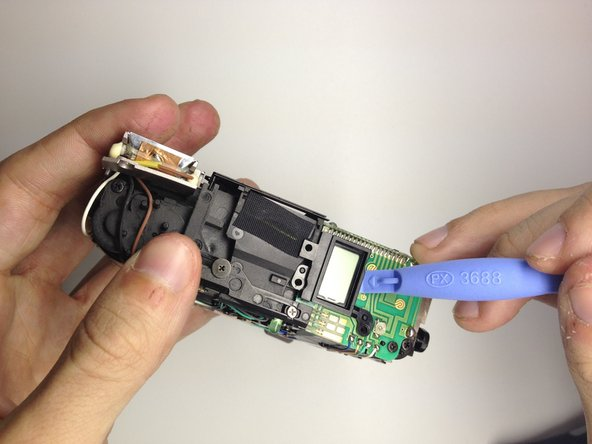 Remove the LCD.