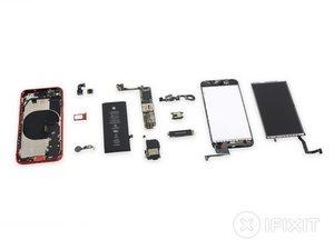 Vue éclatée de l'iPhone SE 2020