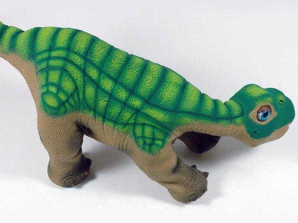 We received our Pleo this week, and resisted the urge to take him apart-- but only briefly.