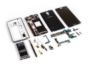 Samsung Galaxy Note 4 Teardown