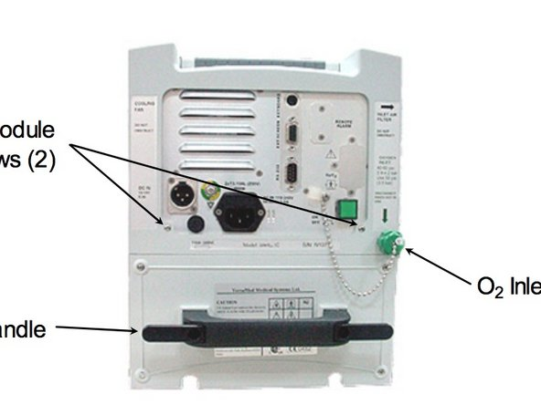 VersaMed iVent 201 On/Off Switch Replacement