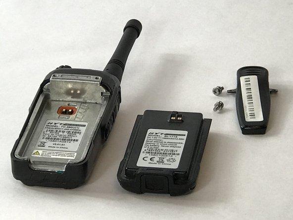 Hytera TC-580 Battery Replacement
