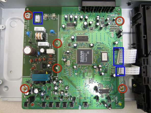 Samsung P241 Motherboard Replacement