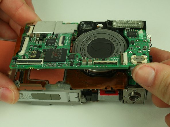 Canon PowerShot S400 Motherboard Replacement