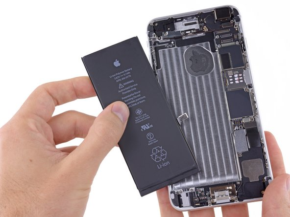 Remplacement de la batterie de l'iPhone 6 Plus