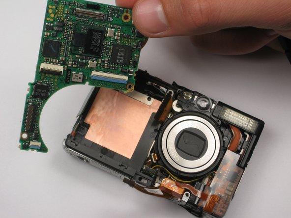 Canon PowerShot SD450 Logic Board Replacement