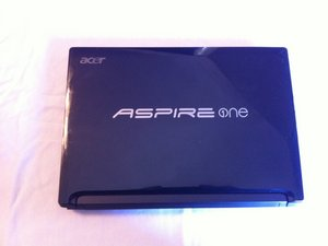 Acer Aspire One D255E - Removing the Back Access Panel