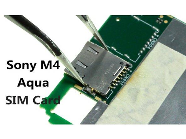 Sony Xperia M4 Aqua SIM Card Slot Replacement