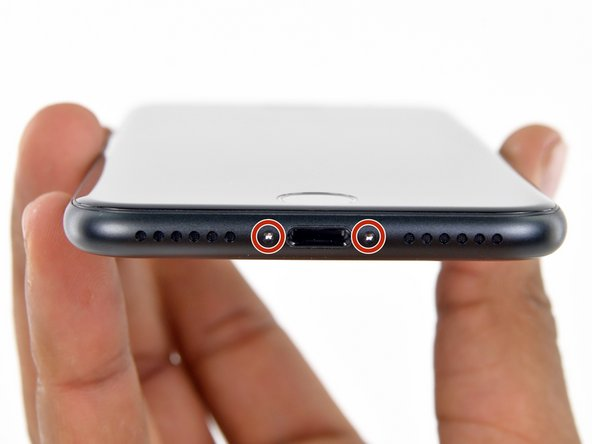 iPhone 7 Pentalobe Schrauben austauschen