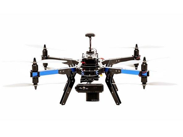 How to Assemble the 3drobotics x8 m