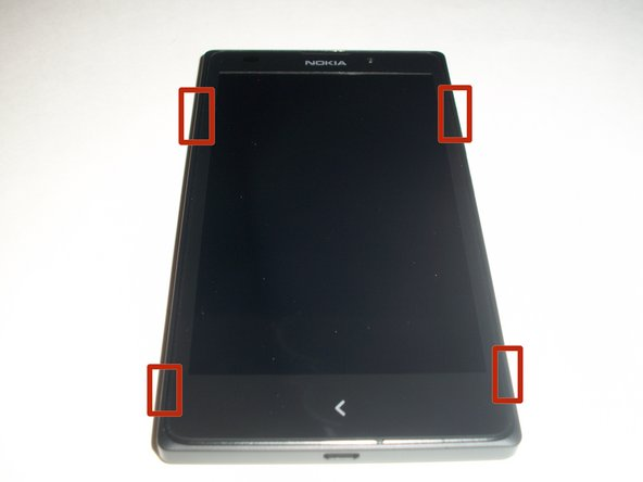 You will first need to separate the back cover from the device.