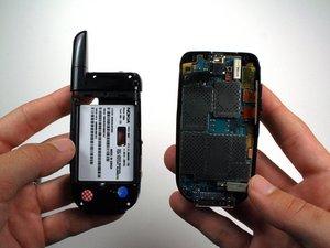 Démontage du boîtier arrière du Nokia 2366i