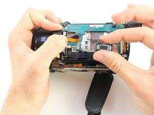 Remplacement du haut-parleur du Sony Handycam FDR-AX33